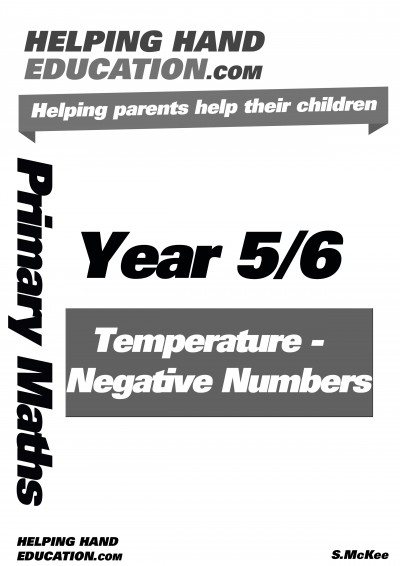 Temperature – Negative Numbers