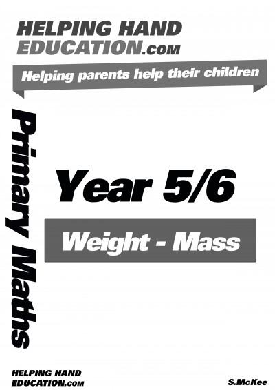 Weight – Mass cover