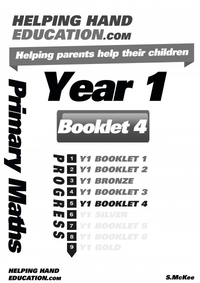Year 1 Booklet 4 cover