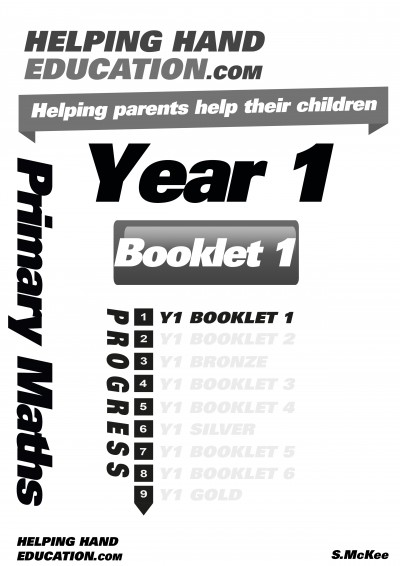 Year 1 booklet 1 cover