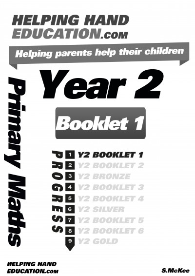 Year 2 Booklet 1 cover B+W