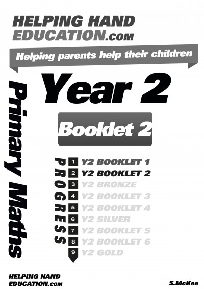 Year 2 Booklet 2 cover B+W