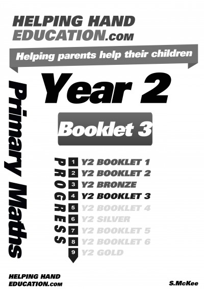 Year 2 Booklet 3 cover B+W