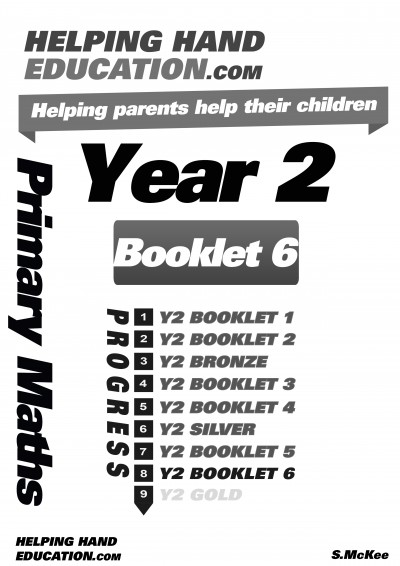 Year 2 Booklet 6 cover B+W