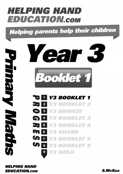 Year 3 Booklet 1 cover B+W