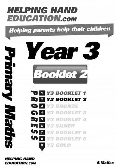 Year 3 Booklet 2 cover B+W